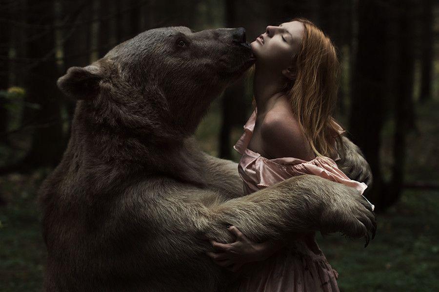 Beauty and the bear by Alexandra Truhacheva on 500px