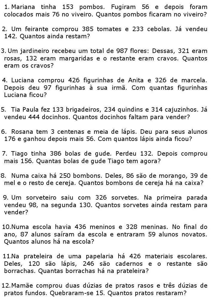 Desafi 7e1 Jpg 713 1009 Com Imagens Problemas De Adicao