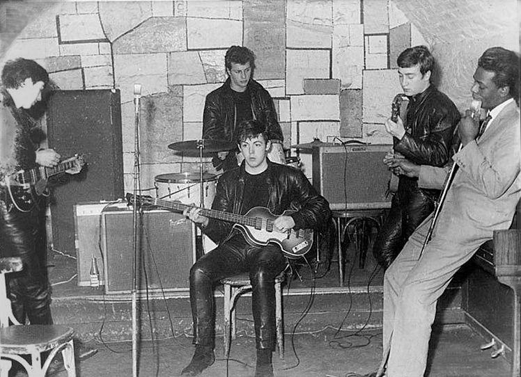 "The Beatles December 1961 The Cavern 8.5 x 11/"" Photo Print"