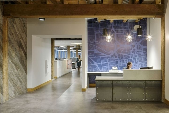 ODW Logistics Office by M+A Architects, Columbus – Ohio » Retail Design Blog