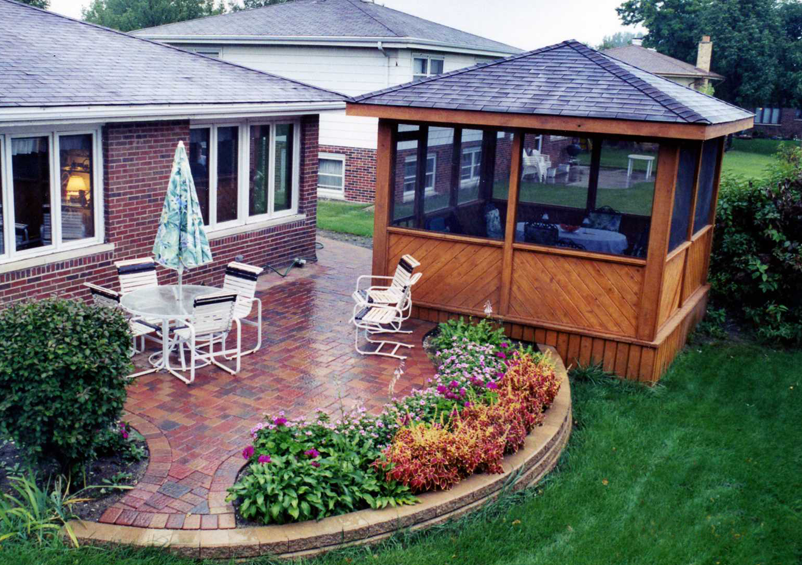 Screened-in Room and Gazebo Contact us for a free ... on D&M Outdoor Living Spaces id=76389