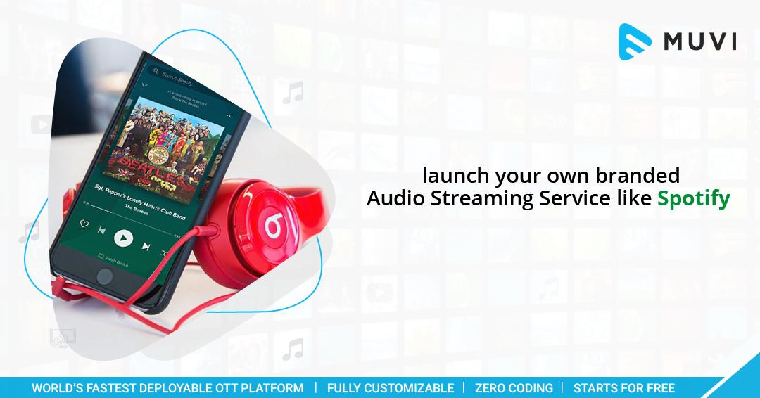 Audio Streaming Service & Platform Music streaming