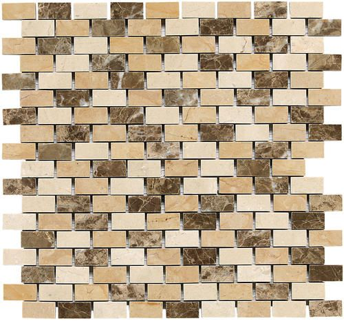 Mohawk Eleganza Stone And Marble Mosaic Floor Or Wall Tile