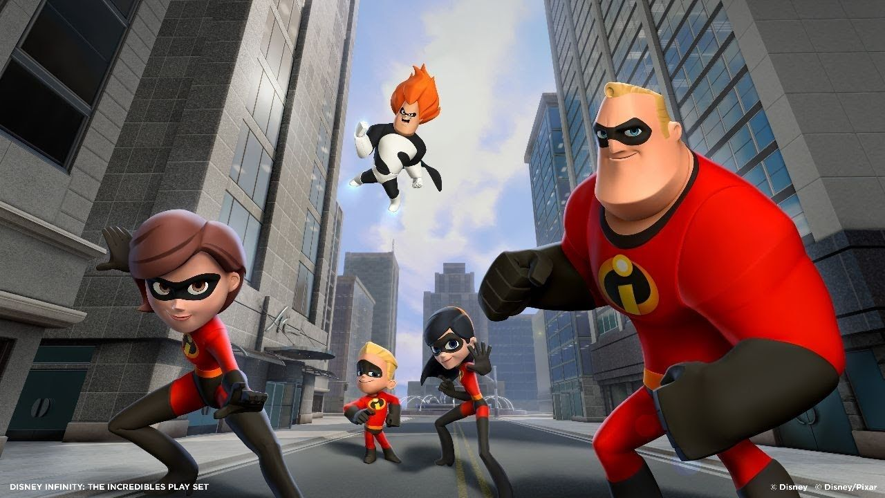 Disney Infinity 1st Hour The Incredibles Películas Completas Los Increibles Los Increibles 1