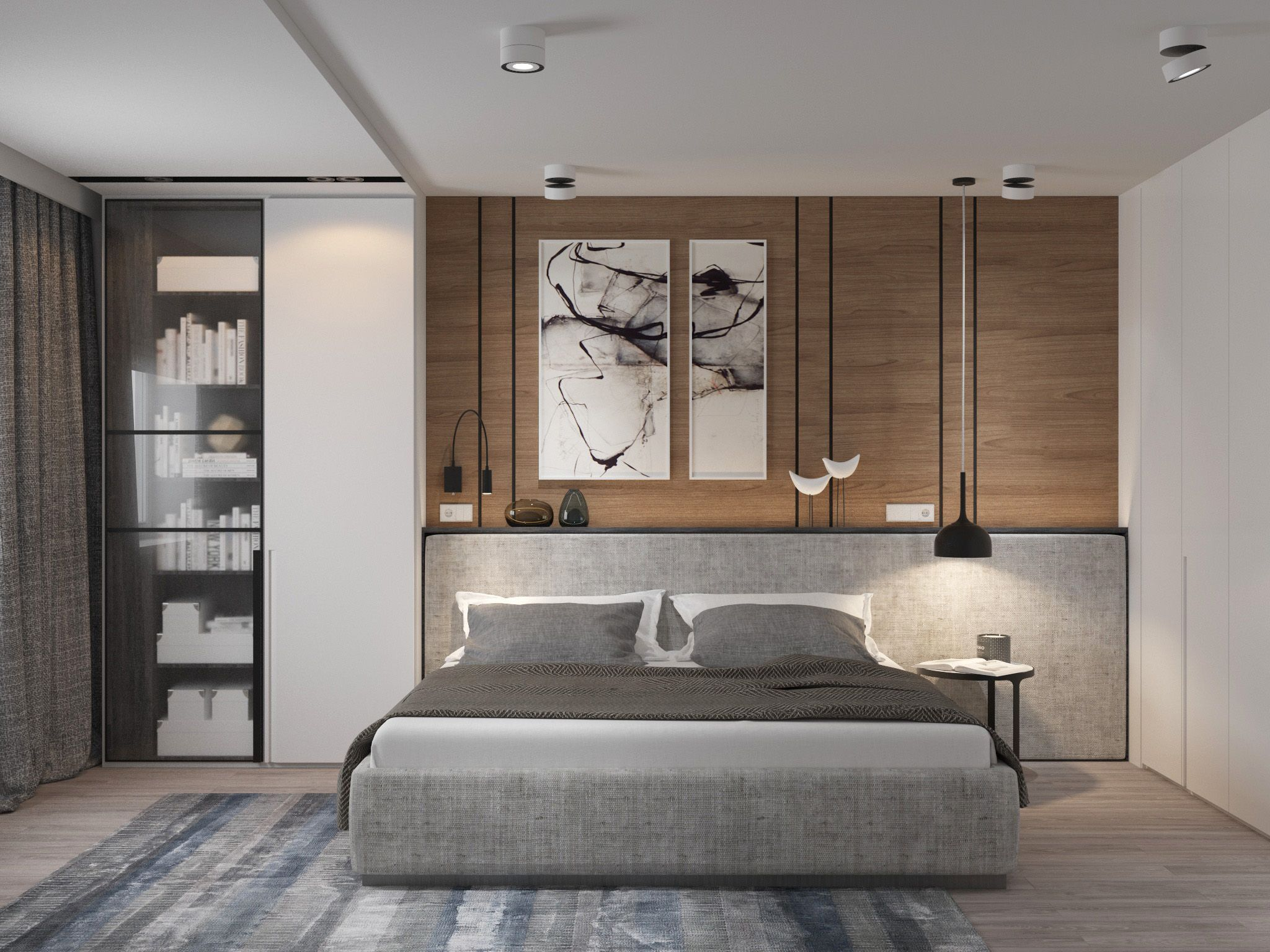 What Is Hot On Pinterest Mid Century Bedroom Ideas Eclectic