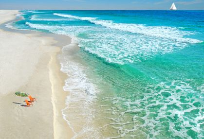 Shell Island Panama City Fl Accessable Only By Boat A Gorgeous With Crystal Clear Emerald Waters And Beach Loaded Seashells Sand