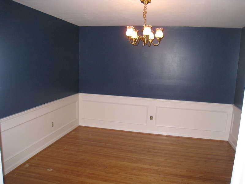 Wainscoting home depot with blue walls possible bedroom Images of wainscoting in bedrooms