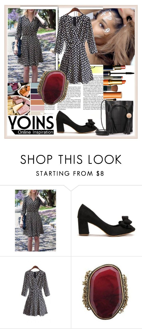 """""""YOINS 26"""" by damira-dlxv ❤ liked on Polyvore featuring мода, vintage и yoins"""