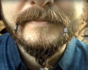 5 bead beard bead kit beard rings viking beard by