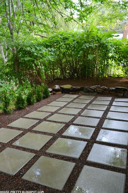Modern Paver Patio Example We Would Be