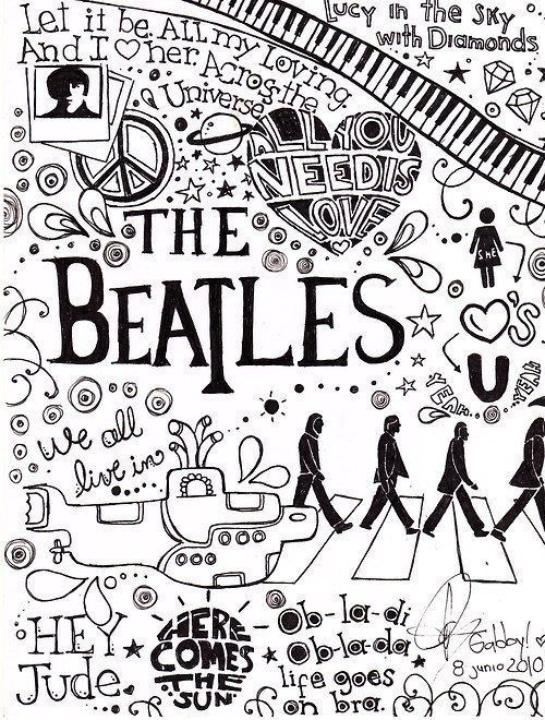 The Beatles Quotes Awesome The Beatles  The Beatles  Pinterest  Beatles Rock And Metalhead Decorating Design