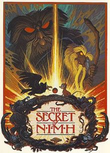 The Secret of NIMH.  Loved this movie