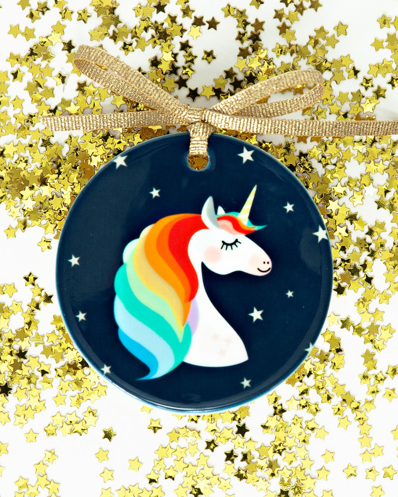 Unicorn Ornament Rainbow Unicorn Ornament Unicorn Christmas