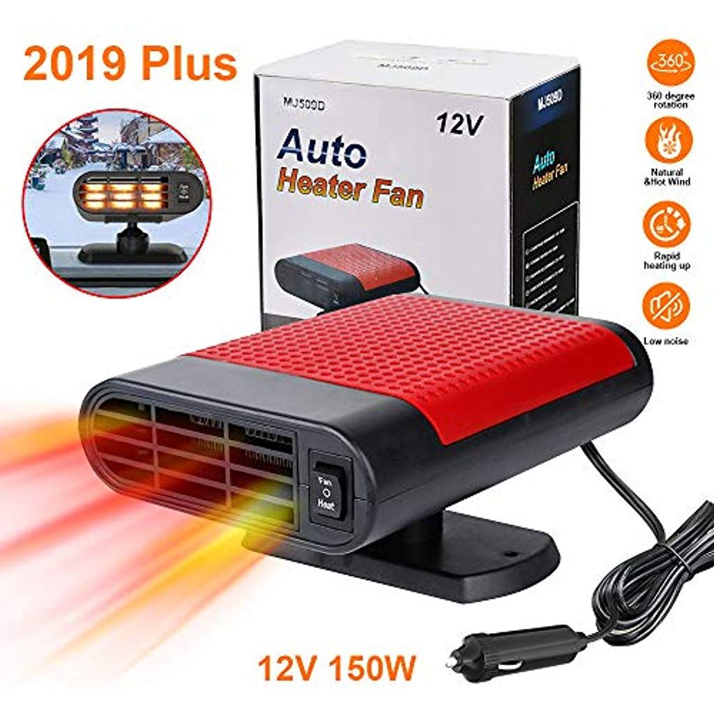 2019 Upgrade Portable Car Heaterwindshield Car Heater Cooling