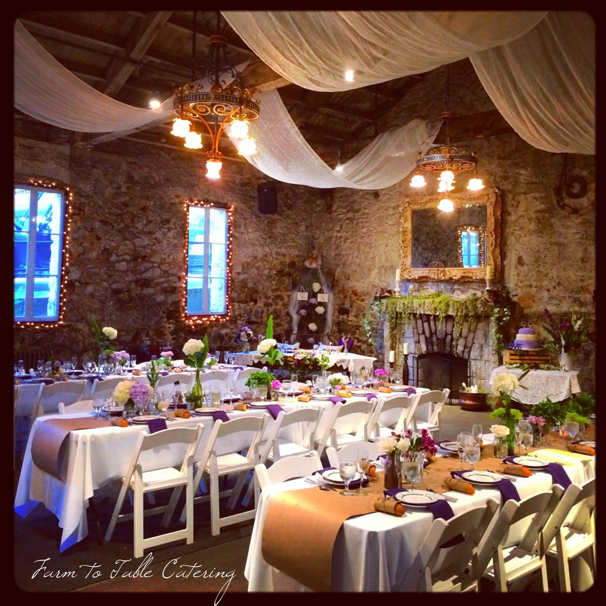 Minersfoundry Stone Hall All Dressed Up For This Weekends - Farm to table sacramento