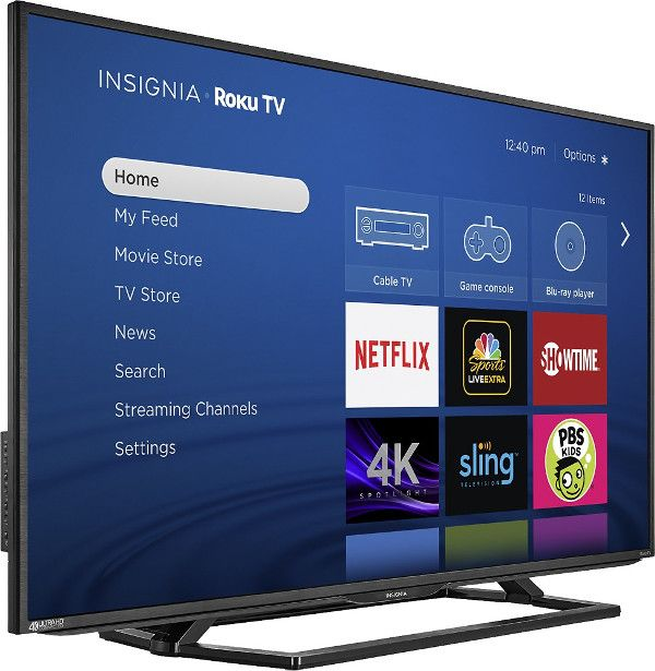 Insignia Roku TV with 50inch screen on sale with free