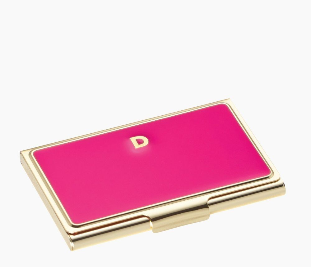 kate spade new york one in a million pink metal business