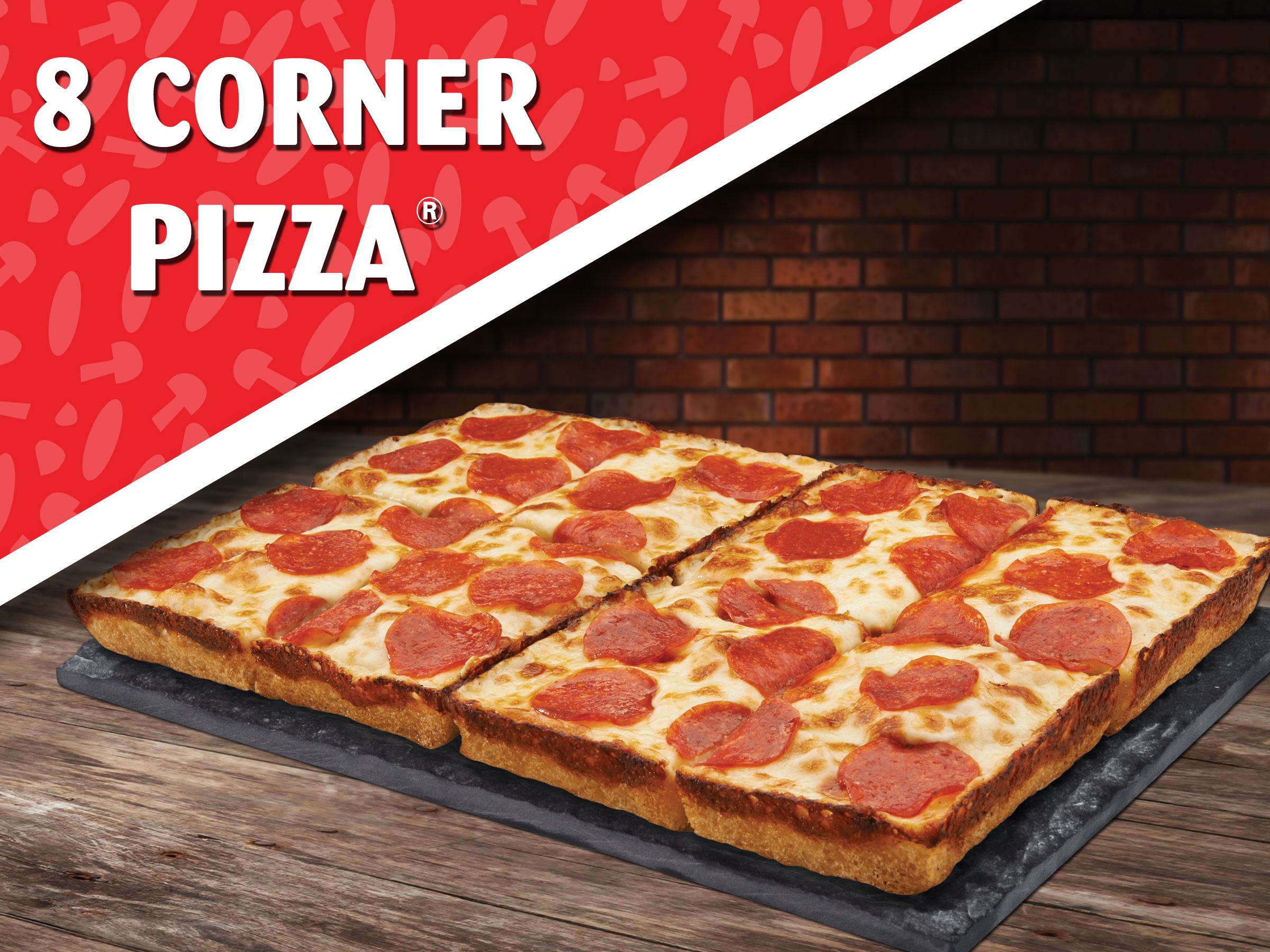 8 Corners Means 2x The Chance Of Getting The Coveted Corner Slice 8cornerpizza Pizzamath Jetspizza Jets Pizza Pizza M Mouth Watering
