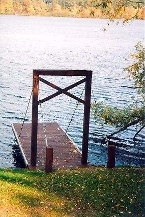 Each of these Elite Cantilevered Docks are designed to fit the