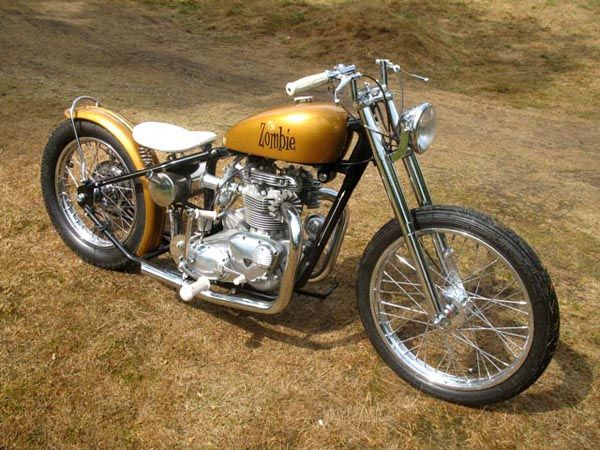 931e5b180 The Zombie by The Baron's Speed Shop | Bikes | Triumph bikes, Harley ...