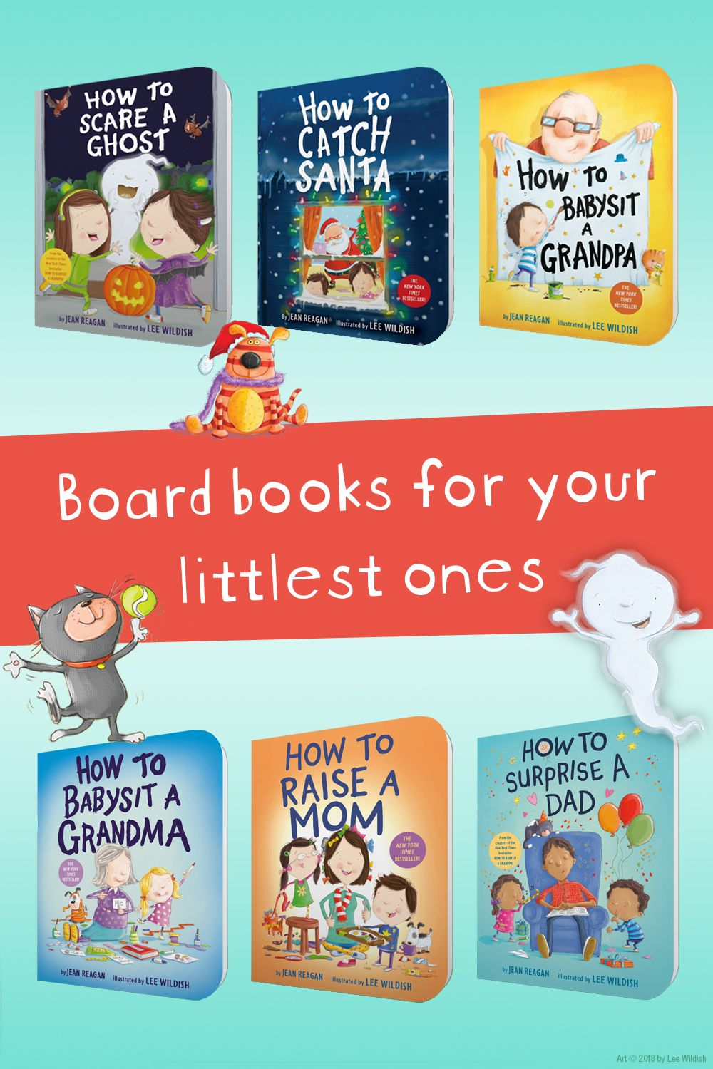 Enjoy this bestselling series with your little ones