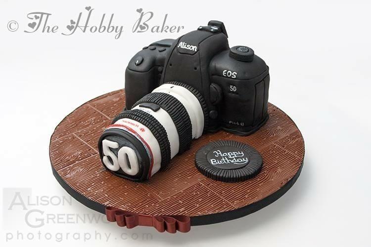Camera Cake  - Cake by The hobby baker