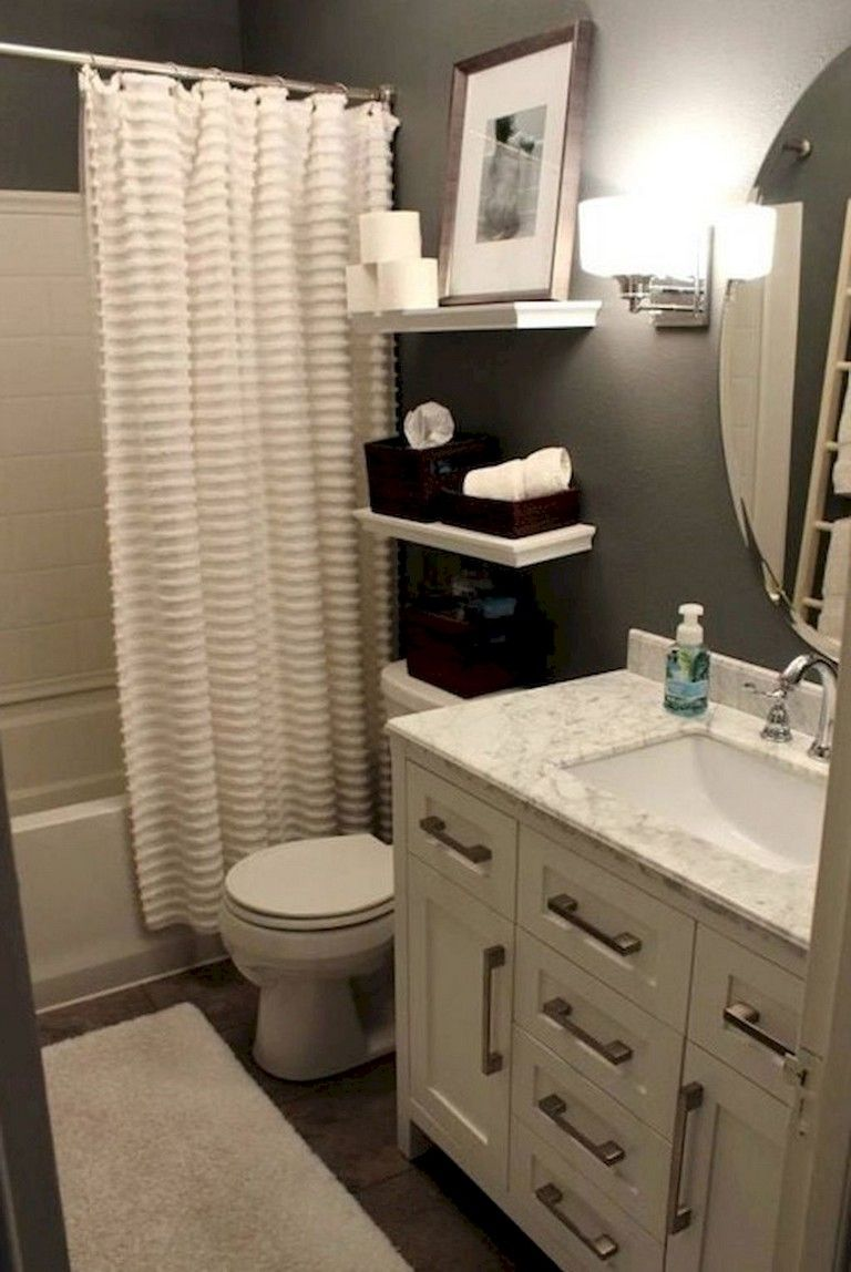 84 Small Apartment Bathroom Decoration Ideas Small Apartment