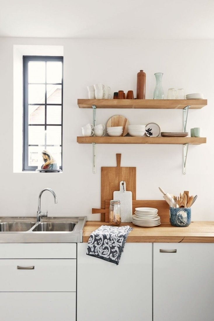 10 Favorites Rustic Open Shelving In The Kitchen With Images