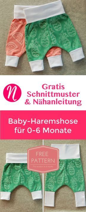 Sarouel bébé | Freebook pour 0 – 6 mois | Talents couture   – Baby Tips