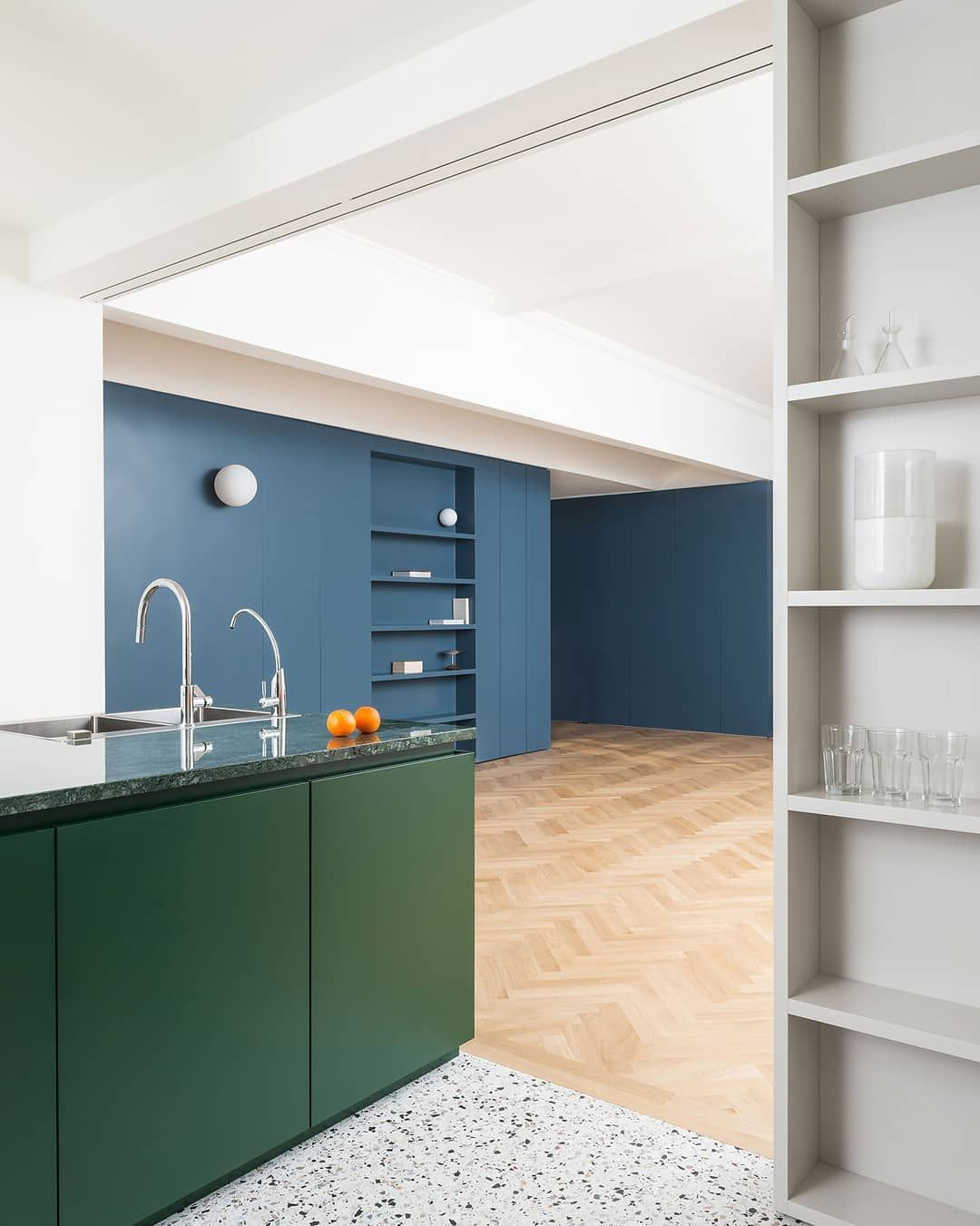 Interior Design For Apartment Kitchen: Penthouse Apartment Inside Milan's 1920s Ca' Brutta