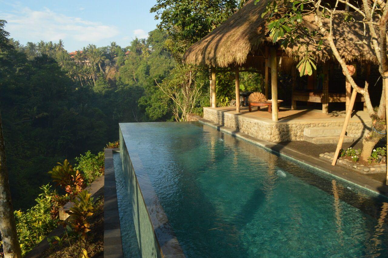 Infinity Pool At Alami Villa Ubud Bali Indonesia Vrbo Com Rental