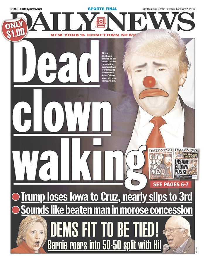 New Yorker Trump Cover Fresh New York Daily News Buries Treasonous Donald  Trump Jr On Its