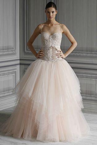 Monique Lhuillier Bridal Spring 2012: For the Romantic Princess ...