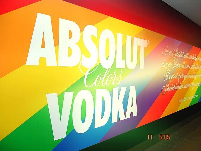 Rainbow Vodka at Australia duty custom