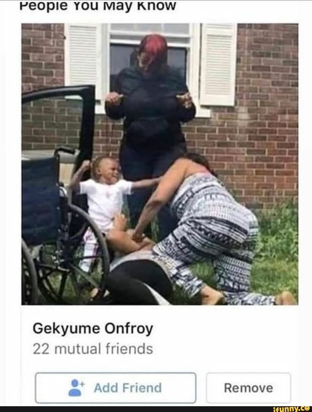 People YOU may KNOW Gekyume Onfroy 22 mutual friends