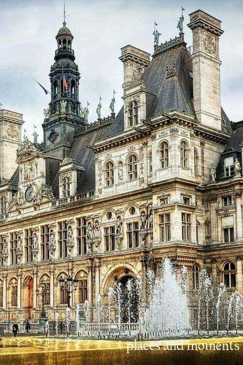 Hotel de Ville,Paris.