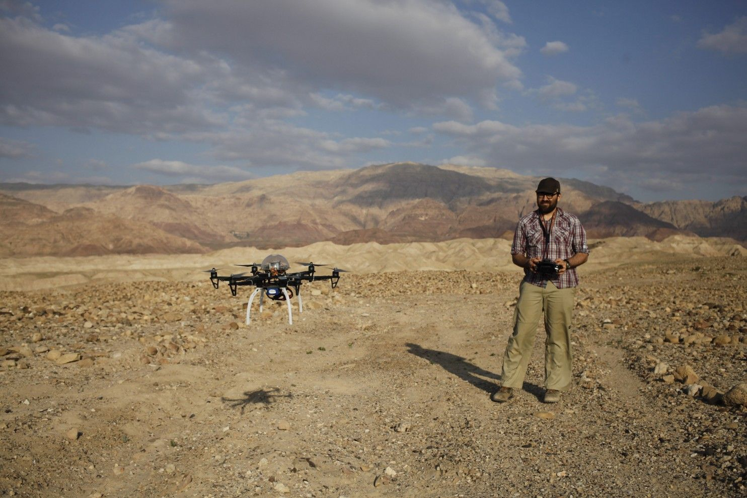 At Jordan site, drone offers glimpse of antiquities looting - The Washington Post