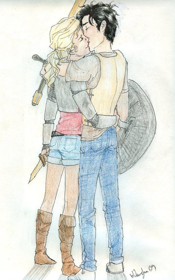 Percabeth Fan Art Percabeth 1 Percy Jackson Acampamento Meio