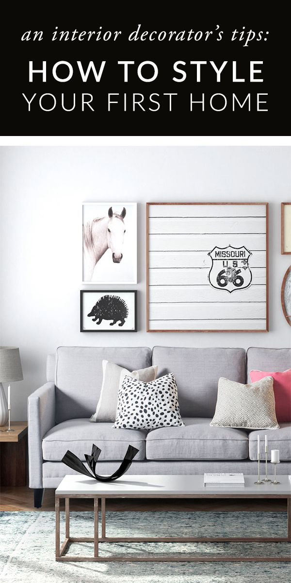 Apartment decorating 101: How to style your first apartment ...