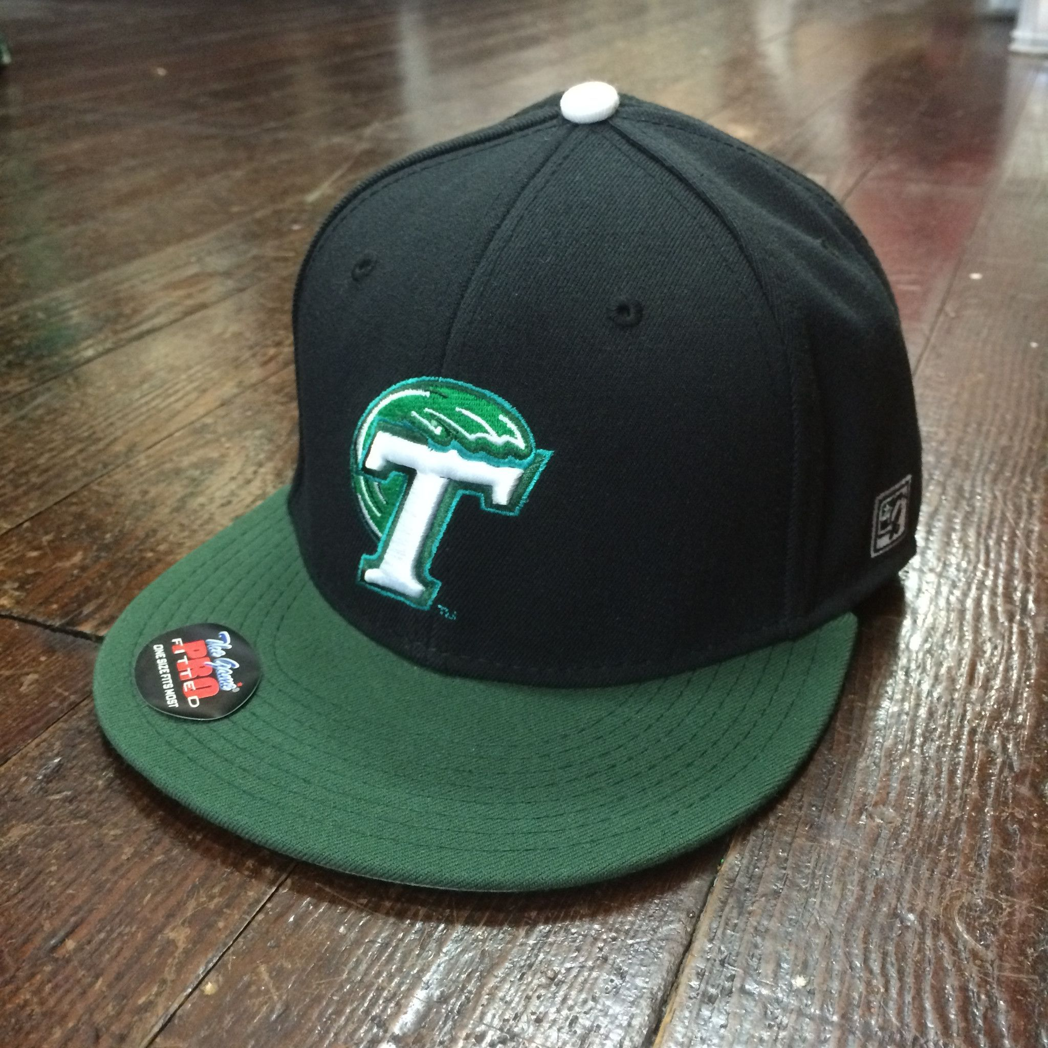 Tulane Official On-Field Baseball Hat  710ee0bde12