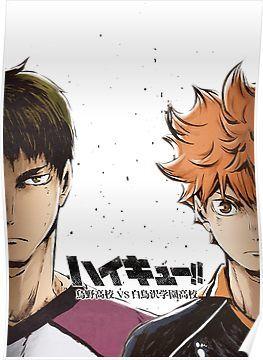 Karasuno vs Shiratorizawa Poster