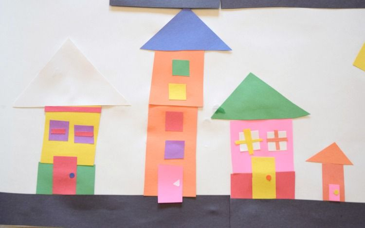 Invitation To Create City Planner Math Crafts Shape Crafts