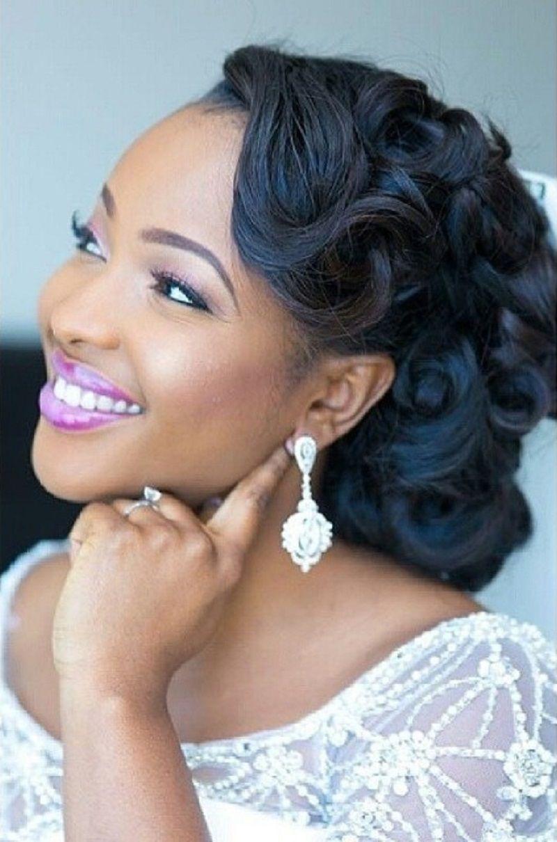 Black Natural Wedding Hairstyles | hair | Pinterest | Natural ...