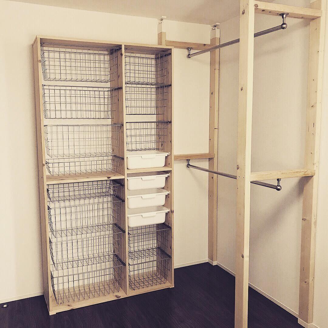 ツーバイフォーdiy 天井と床をつっぱって棚作る方法 ラブリコ ディア