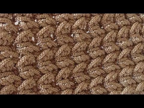 Tutorial Punto freccette uncinetto | Crochet - YouTube | Bags ...