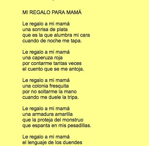 Poemas Bonitas Cartas Para El Dia De La Madre Poemas Y Poesias Para El Dia De La Madre 2020 Poema Para La