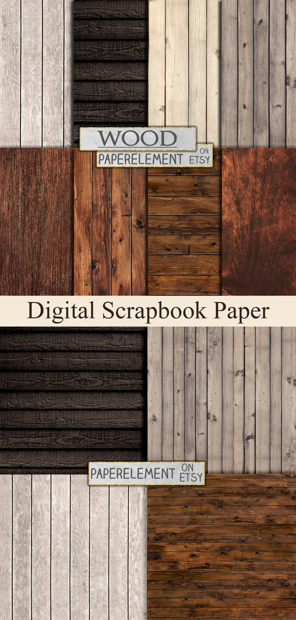 These Papers Would Make For Some Beautiful Scrapbook Pages Rustic