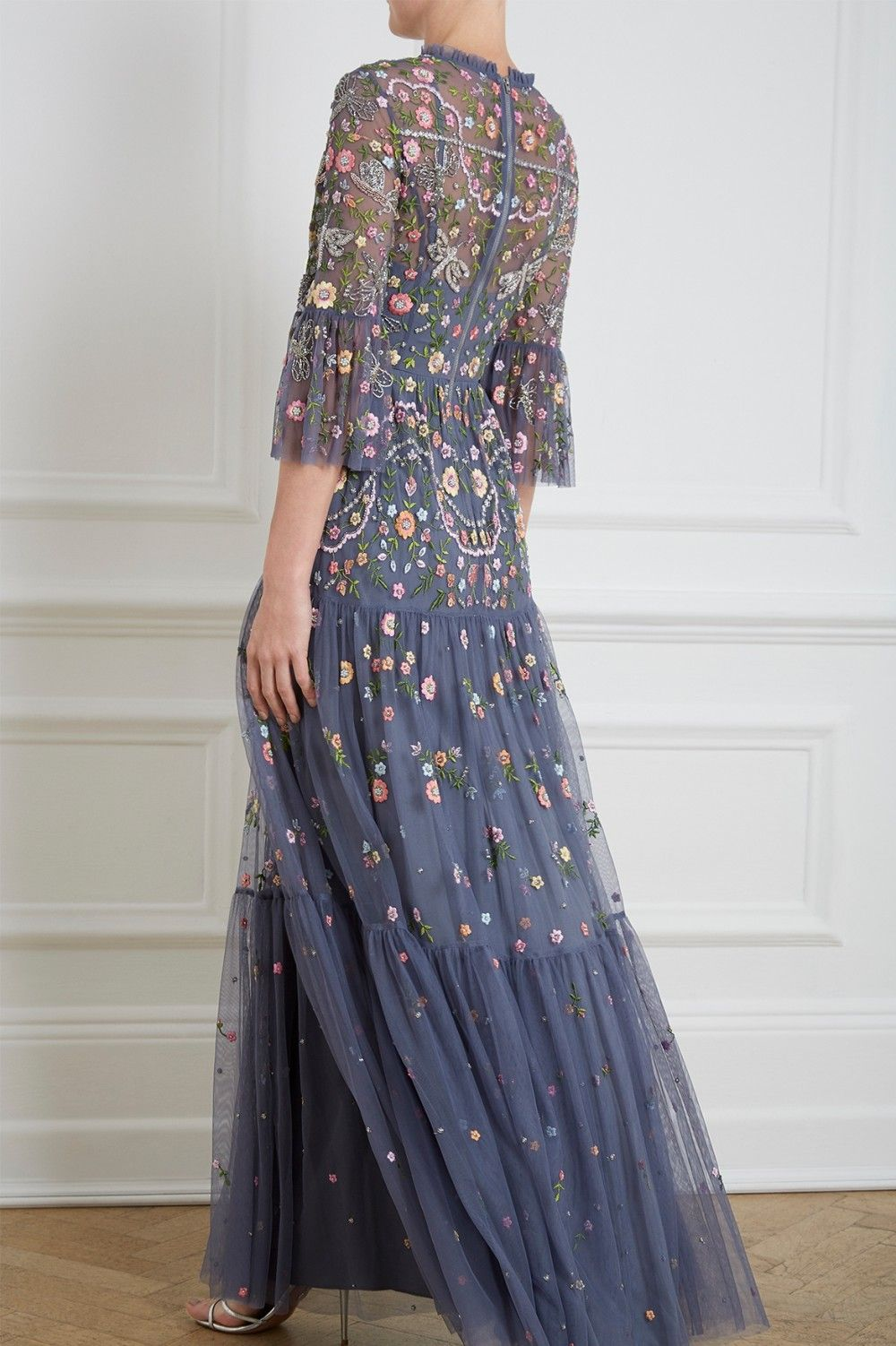 06fa780f875 Dragonfly Garden Maxi Dress in Slate Blue from Needle   Thread CR19 ...