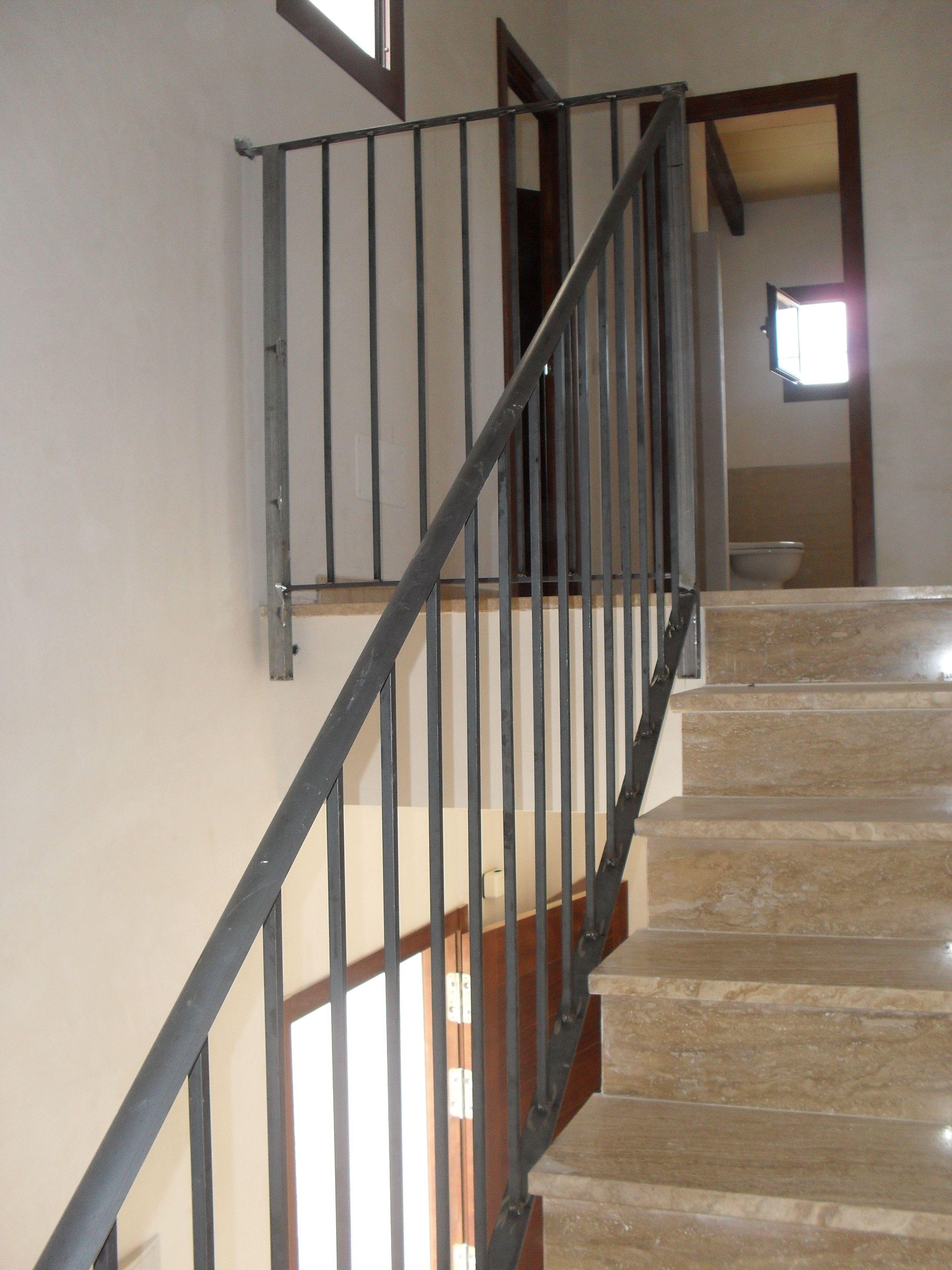 Barandilla hierro puertas escaleras escalera de - Barandillas de hierro ...