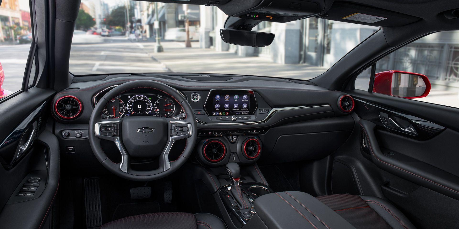 2019 Chevrolet Blazer Sporty SUV Front Dash Chevrolet